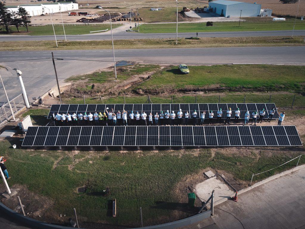 La propuesta de Academia Solar  fue difundida y organizada desde Sembrando Futuro, programa que nació hace  más de dos años, en alianza con Fundación Forge, para potenciar la empleabilidad de los jóvenes  balcarceños