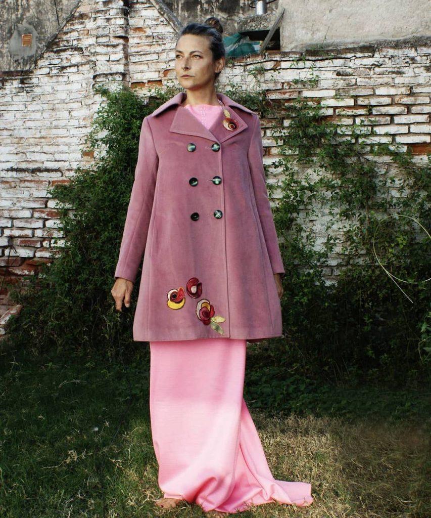 La industria textil y los cambios en la moda: Catalina Rautemberg, exmodelo y ahora diseñadora