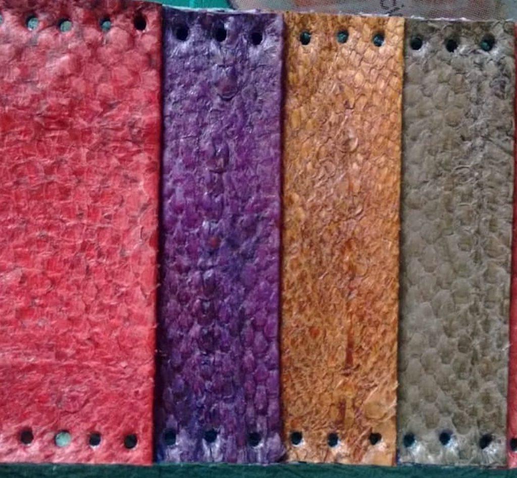 El impacto ambiental y las materias primas naturales: piel de pescado, el producto estrella de Naturarte