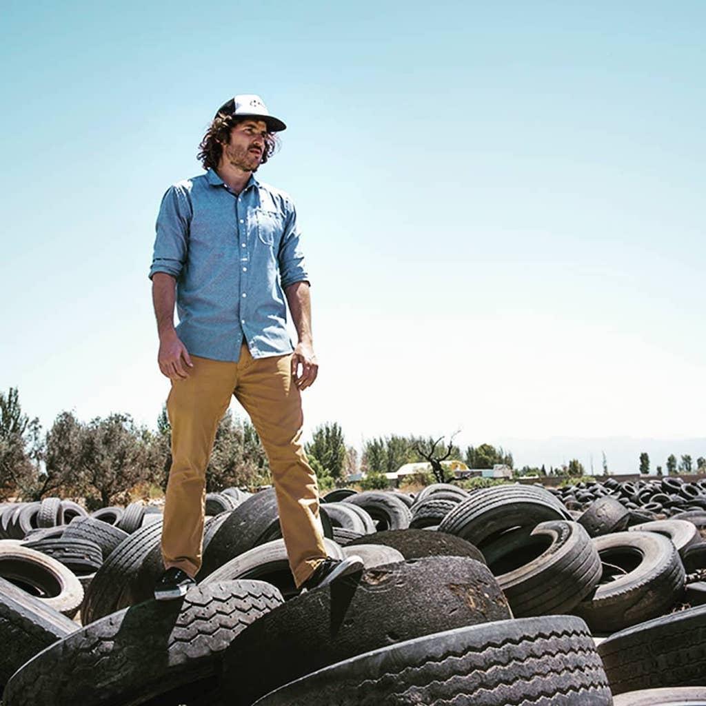 El impacto ambiental y las materias primas naturales: Xinca y los neumáticos en desuso para zapatillas