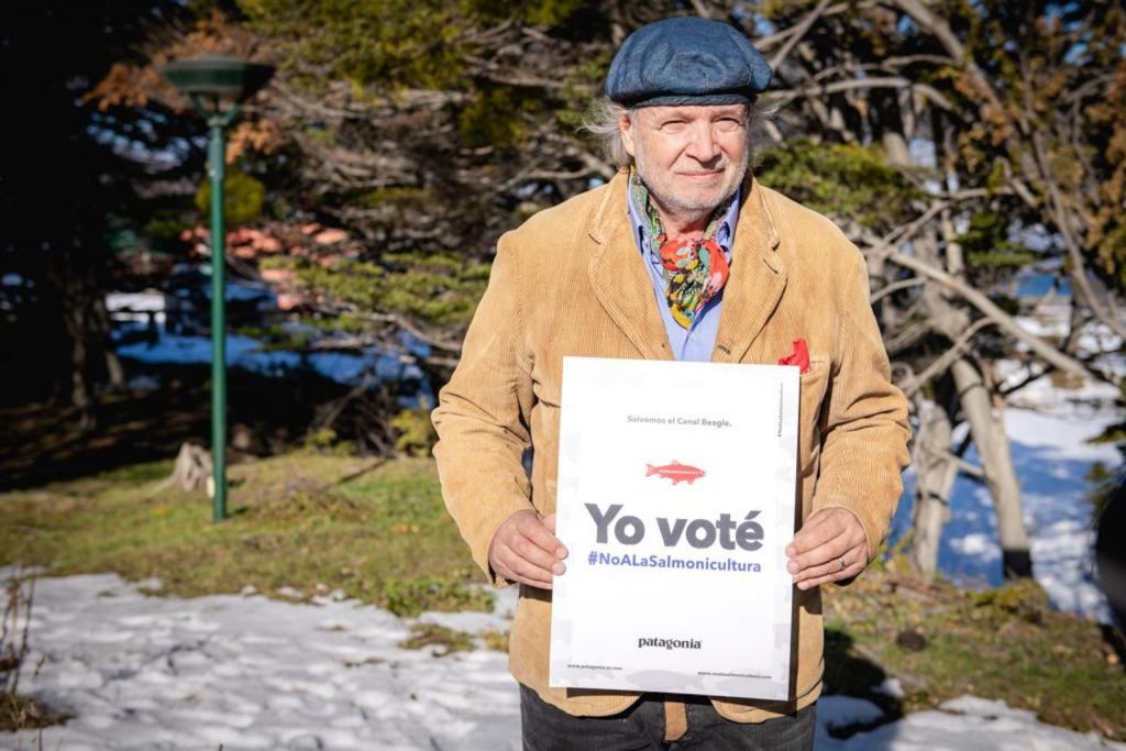 Tierra del Fuego le dijo NO a la salmonicultura: Francis Mallman votó también