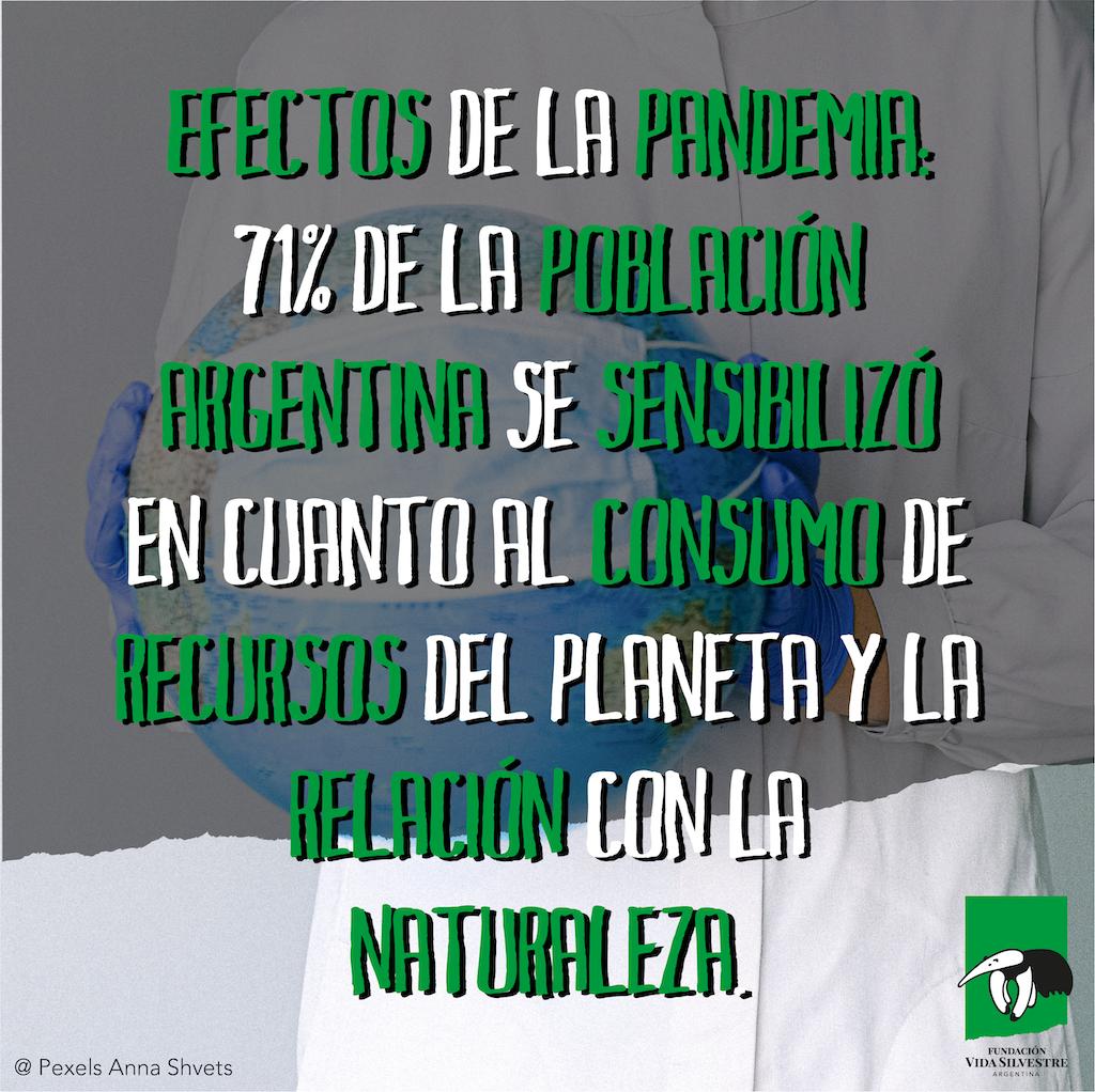 Una investigación de opinión pública para la Fundación Vida Silvestre arrojó un creciente interés en los argentinos por el tema