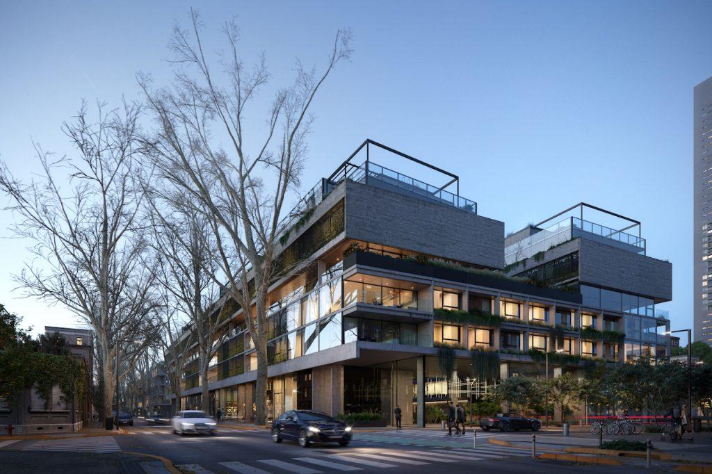ATV Arquitectos y el proyecto de un flamante edificio sustentable, que estará emplazado en una manzana entera y que dará por inaugurado un nuevo distrito llamado Palermo Green