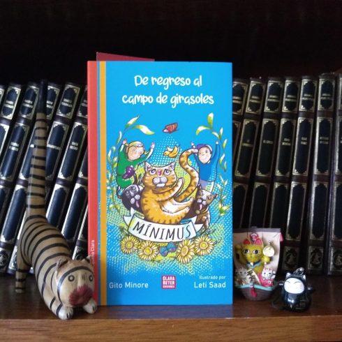 Gito Minore escribe ahora sobre la vida de Mínimus, un gato en busca de sus raíces
