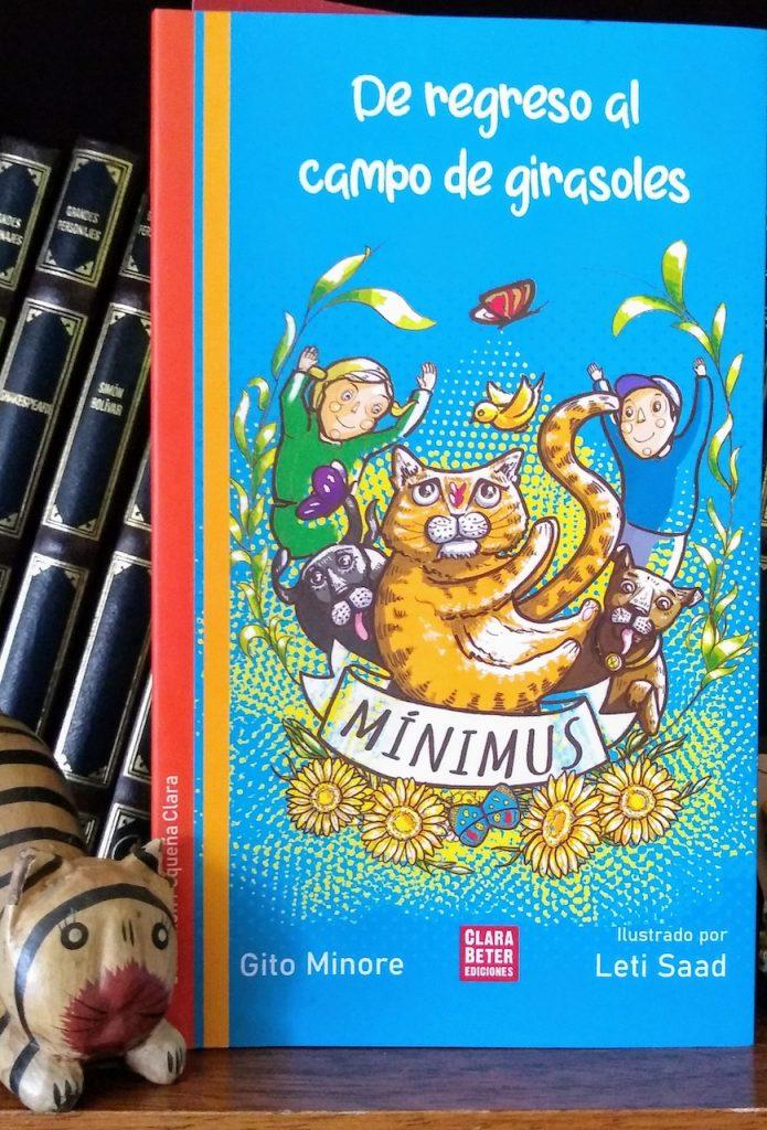 La historia del gato Mínimus, narrada por Gito Minore y publicada por Clara Beter Ediciones